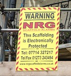 scaffold alarms brighton hove eastbourne sussex